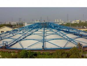 揭秘反吊膜污水池加盖的应用成果