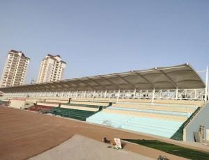 膜结构看台在体育场馆里的运用