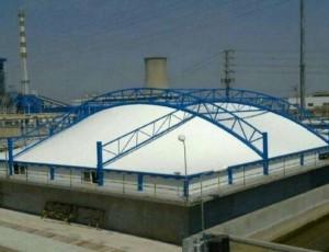 浅聊污水池加盖系统各构件的作用