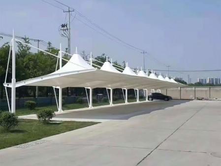 山西省长治市交通管理处膜结构车棚