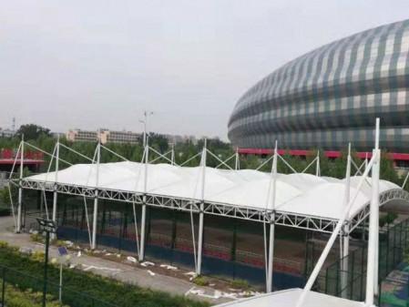 聊城市体育馆膜结构网球馆