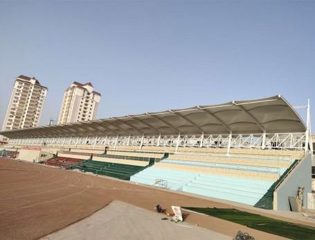 新疆阿克苏市温宿县第二小学膜结构看台