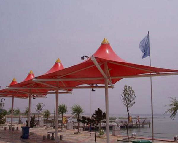 海洋海立方水上乐园景观膜结构