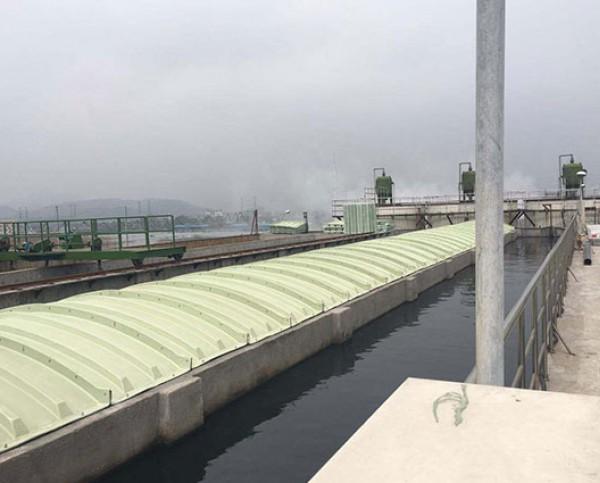 随动式污水池加盖