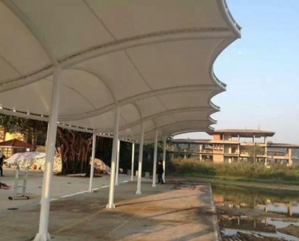 枣庄薛城垂钓中心膜结构工程