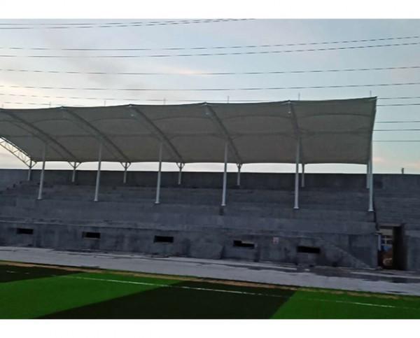 滨州市北海区魏桥总部球场膜结构看台