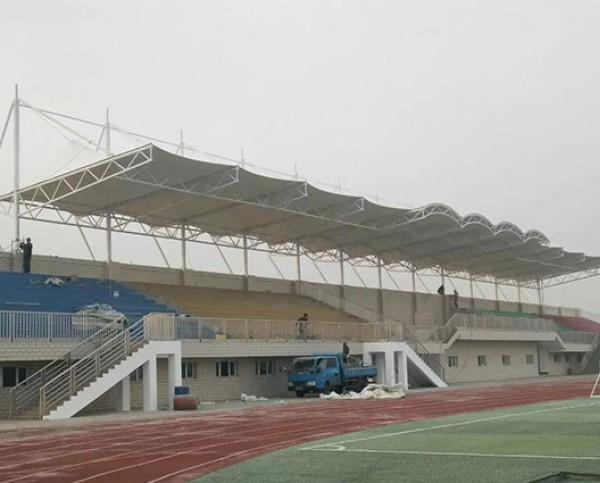新疆阿拉尔一师十六团中学膜结构